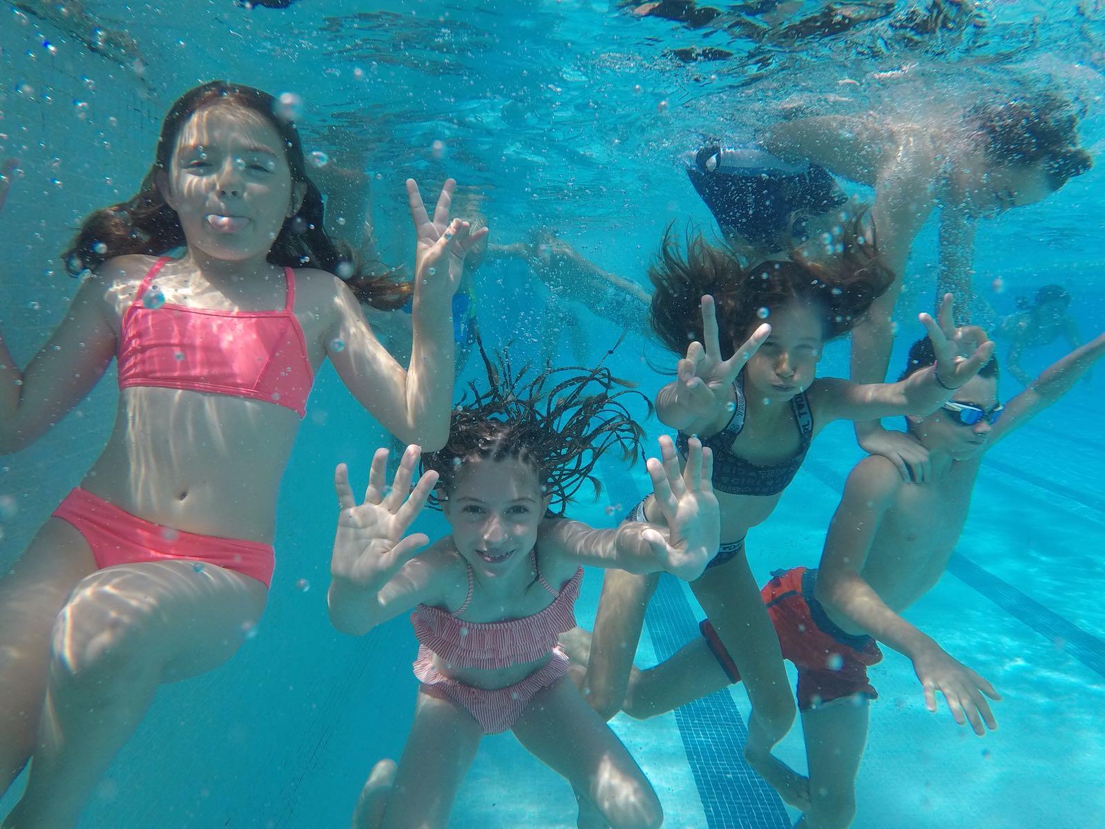 La piscina serà un element fonamental del nou Casal | Salt Idiomes