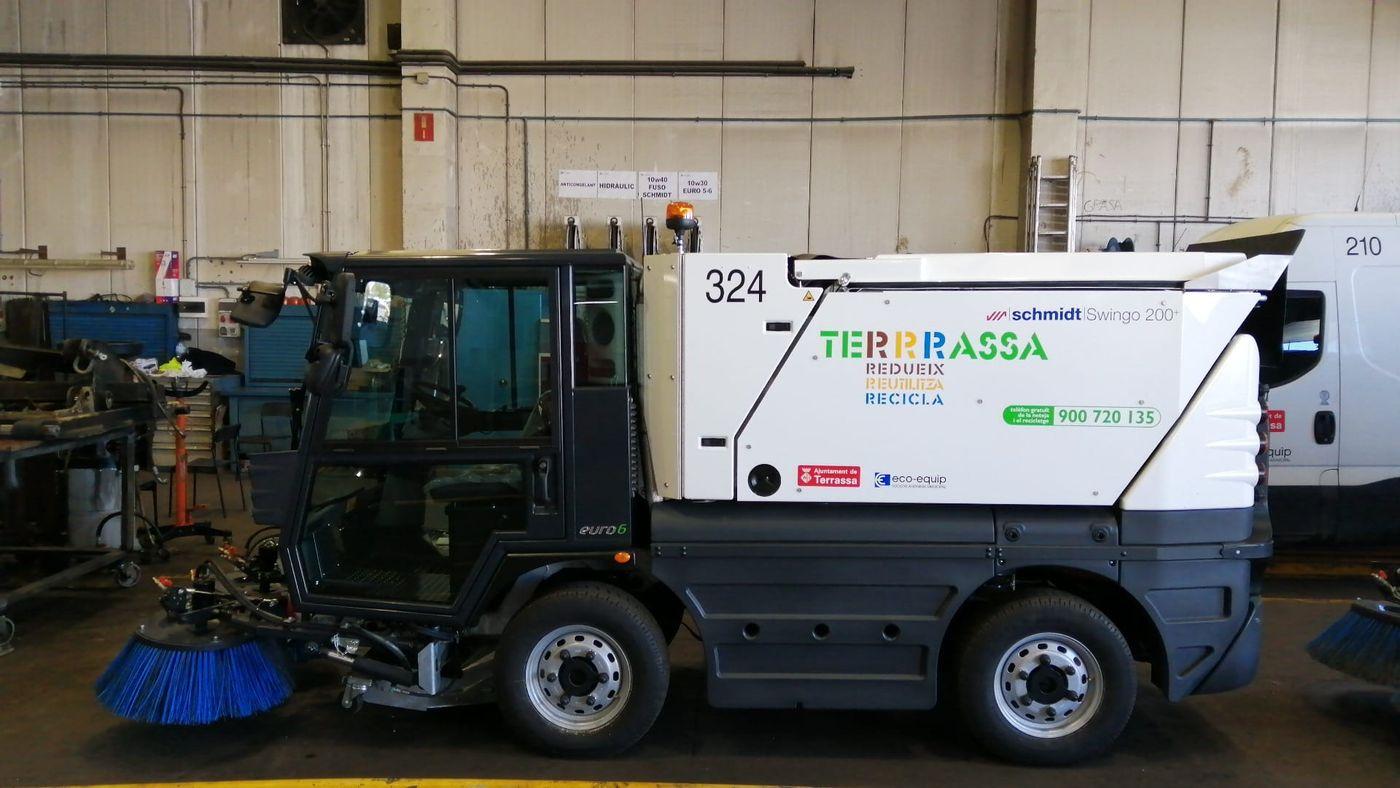 Noves escombradores per a Eco-Equip   Ajuntament de Terrassa