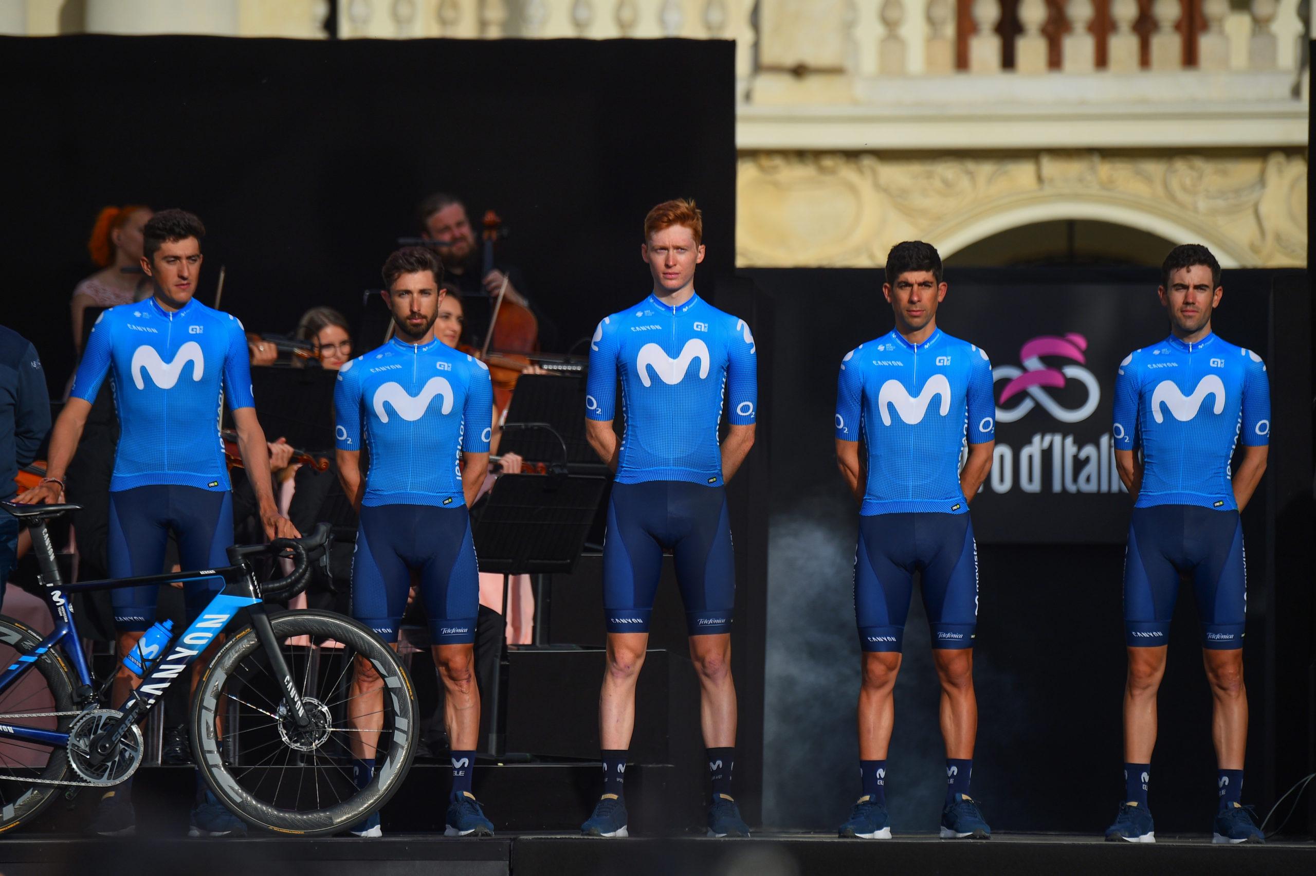 Giro d'Italia 2021 presentació de Movistar Team | Dario Belingheri/BettiniPhoto