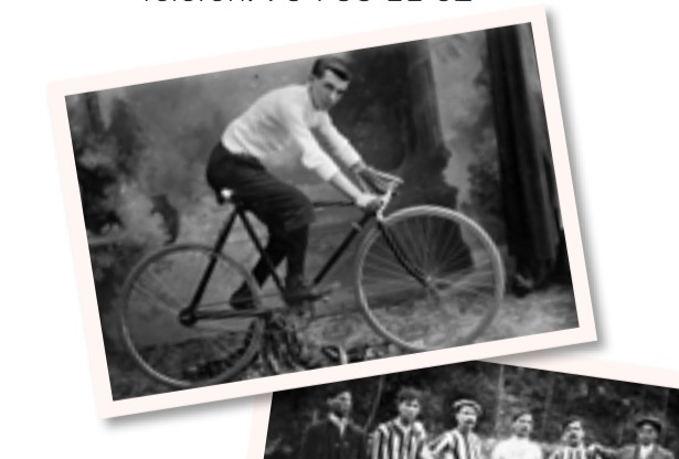 Noi amb bicicleta. 1915 | Arxiu Tobella