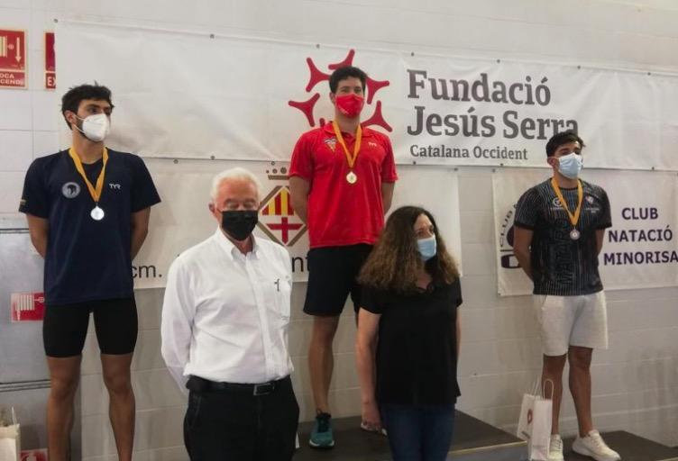 Or per Jordi Pérez als 200m braça | CN Terrassa