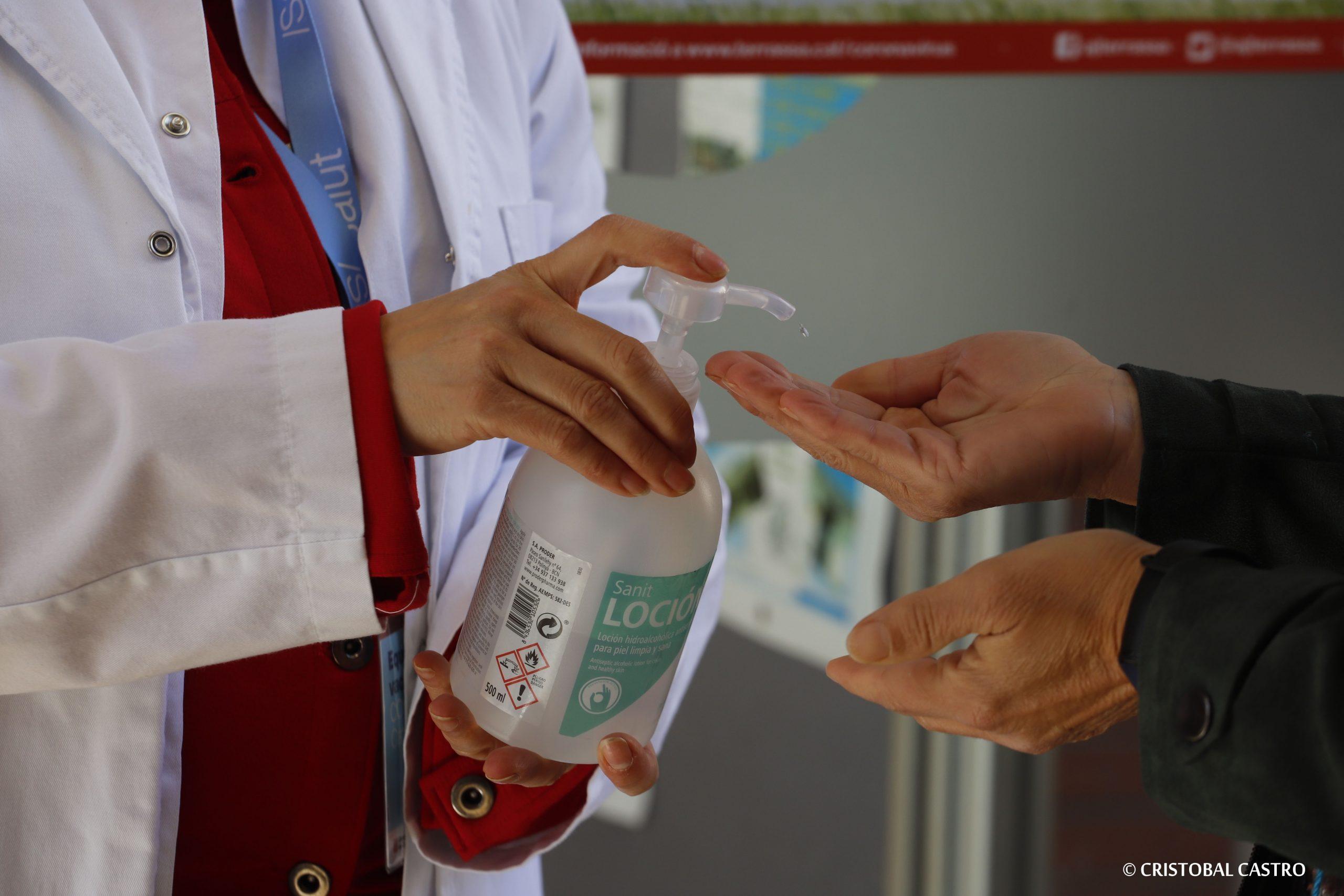 Campanya de vacunació Covid al Centre Cívic Montserrat Roig de Terrassa | Cristóbal Castro