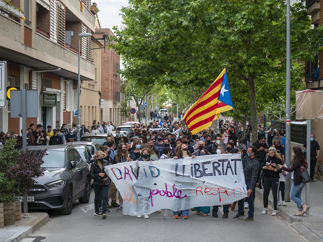 Clam per exigir la llibertat del jove CDR detingut/Miquel Badia-Matadepera.cat