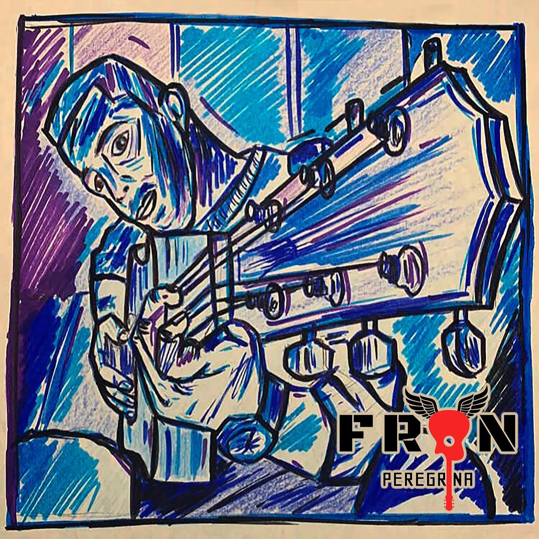 Portada del primer EP de Fran Peregrina