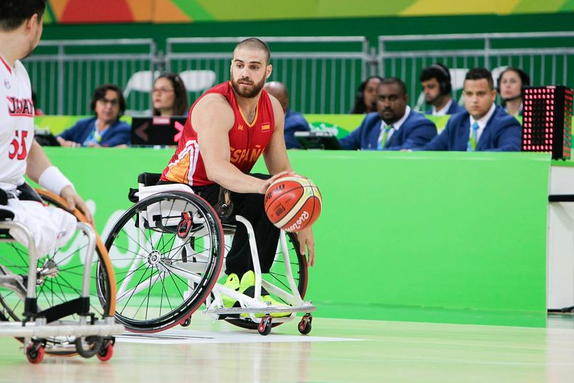 Jordi Ruiz competirà a Tòquio en la modalitat de bàsquet en cadira de rodes | Cedida