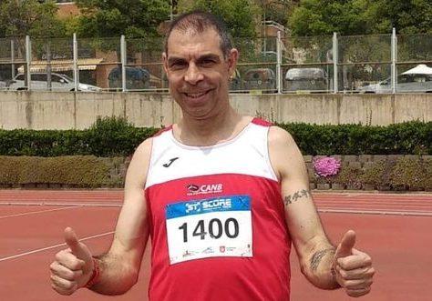 L'atleta de Terrassa Juan Karlos Saco