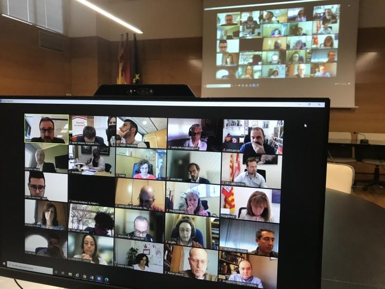 El Plenari del Pacte per la Reindustrialització es va celebrar en format virtual | CCVO