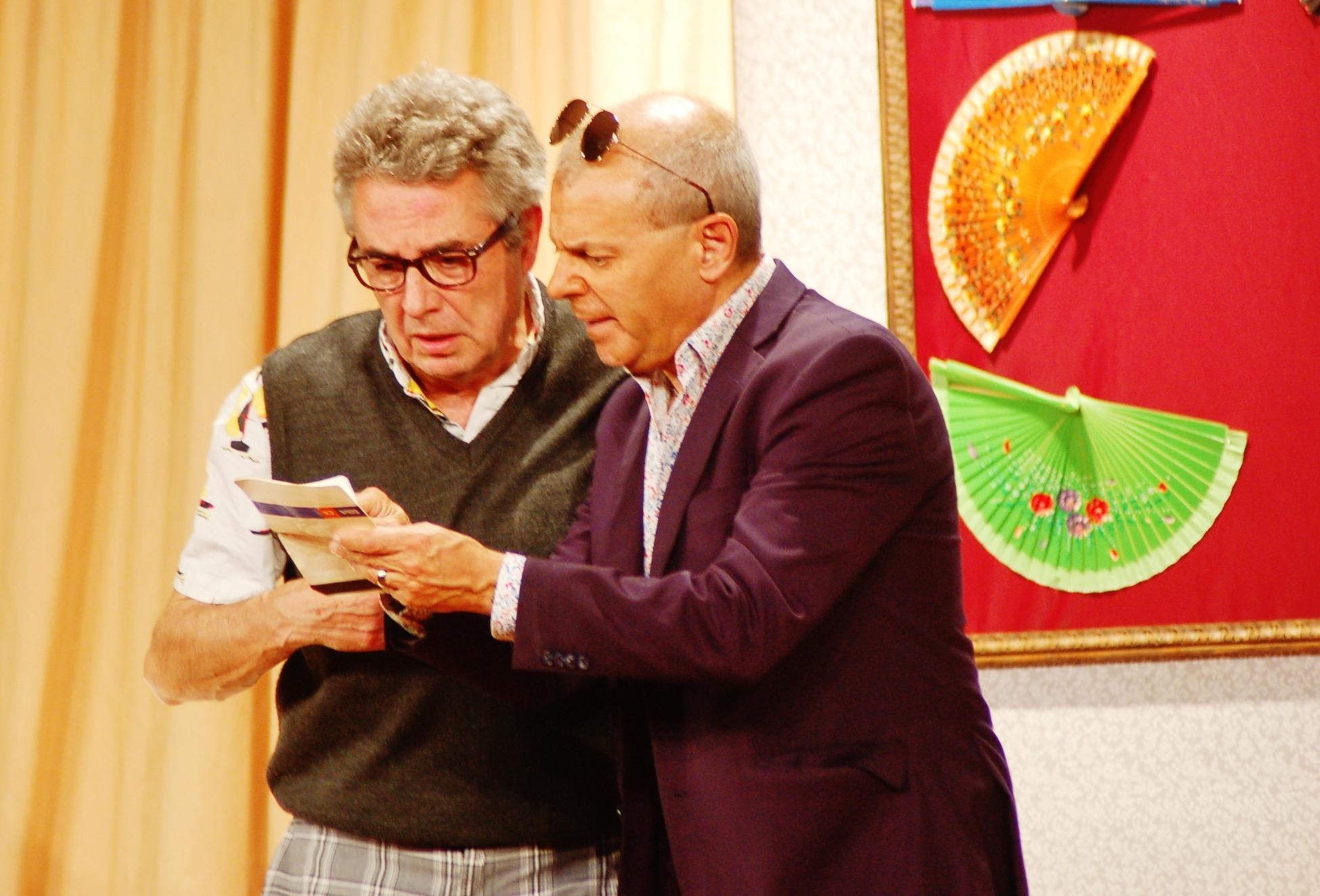 El Premi Ciutat de Terrassa de Teatre va acollir l'actuació del Grup Teiatròlics de Banyoles | Ramon Navarro