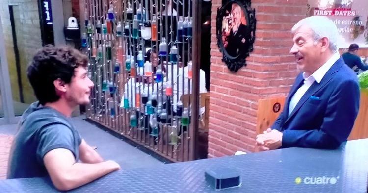 Miki Nuñez i Carlos Sobera a First Dates | Cedida
