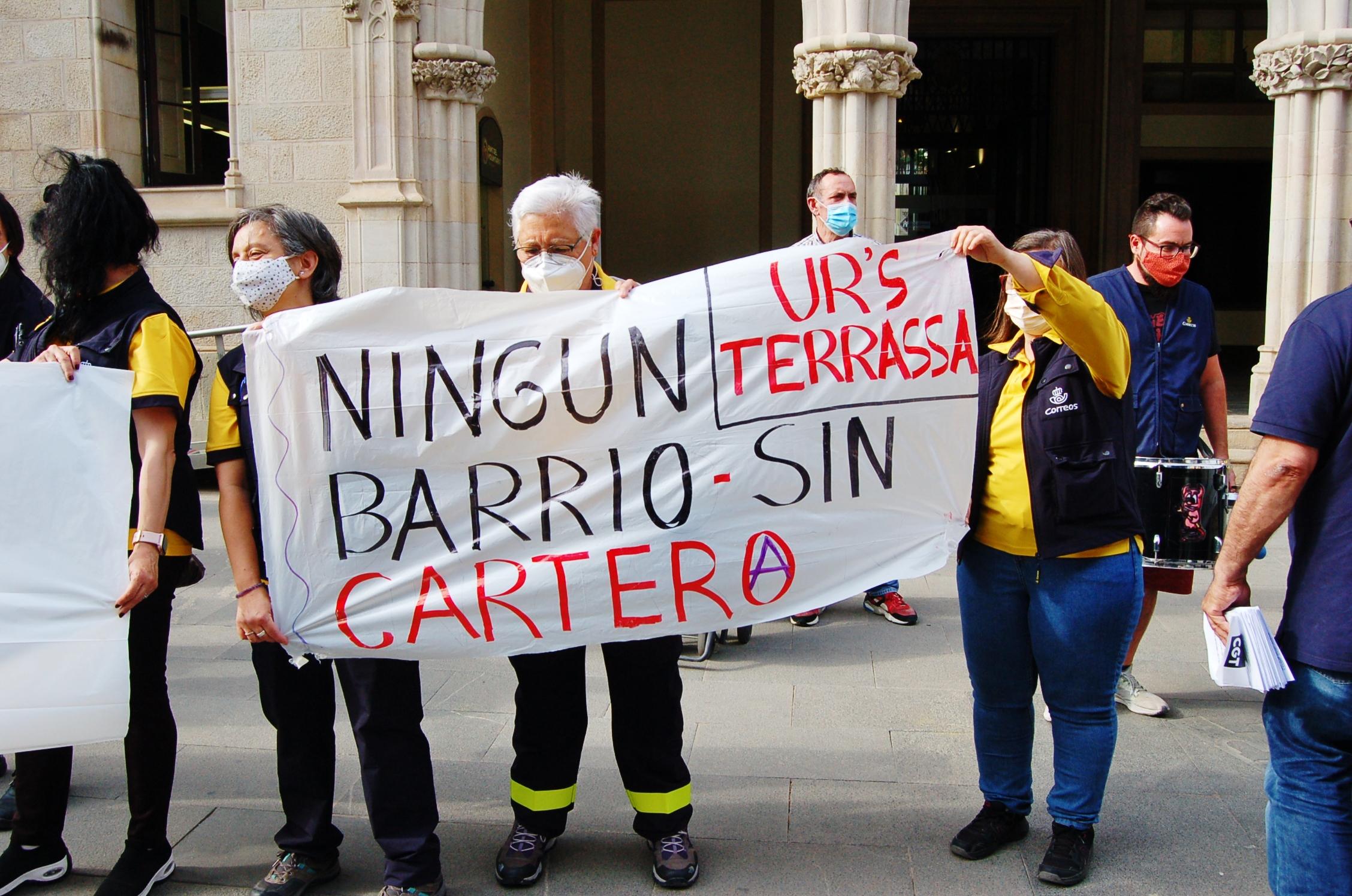 Protesta dels treballadors de Correus de Terrassa | Ramon Navarro