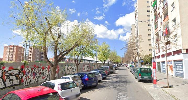 Carrer Castellsapera de Terrassa, a Sant Llorenç