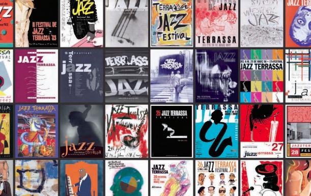 Exposició 40 anys de Festival de Jazz