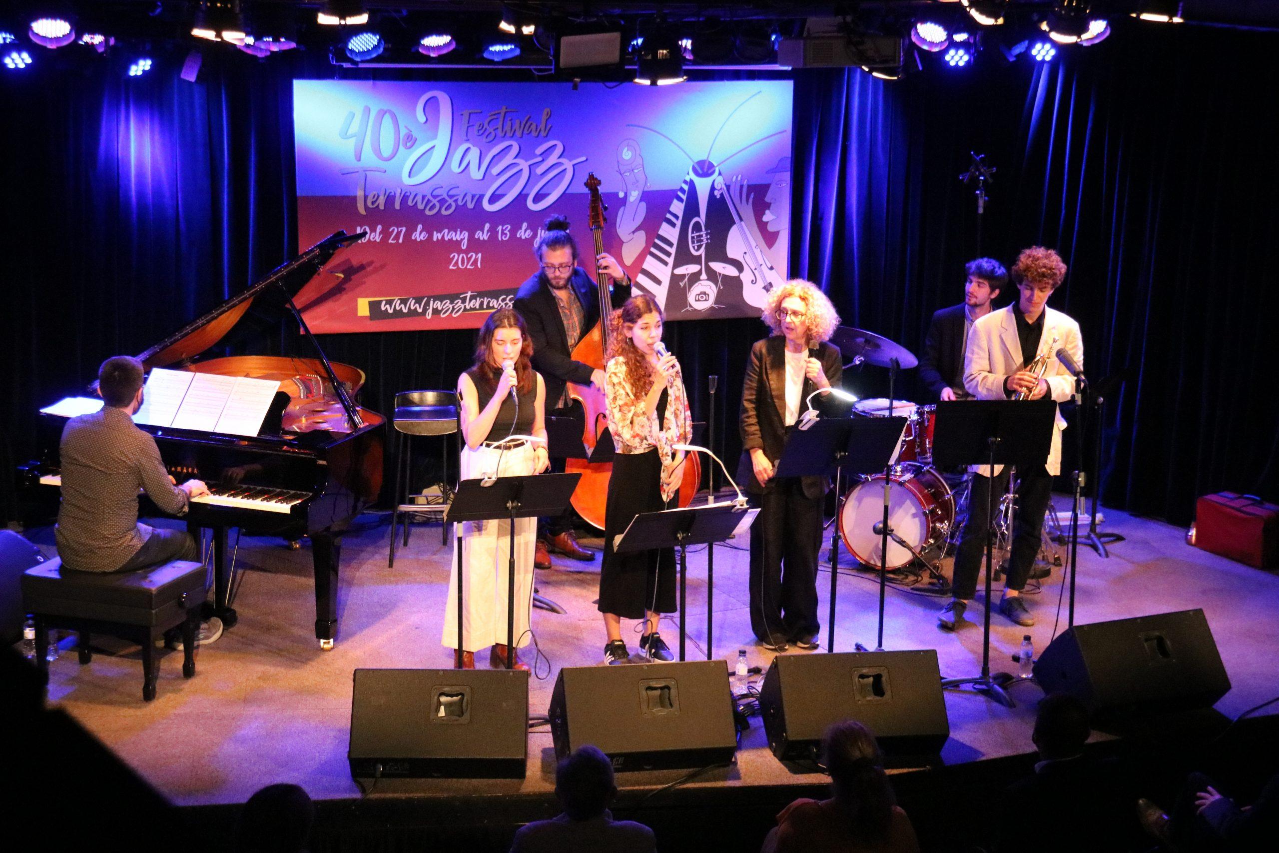 Seven Sides en la inauguració de la 40a edició del Festival Jazz Terrassa/ACN