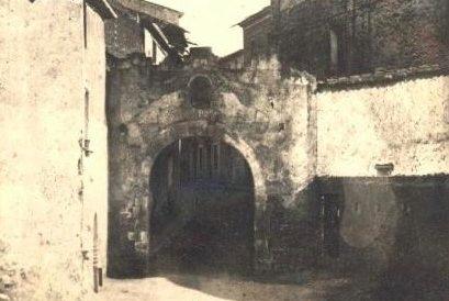 Portal de la Guia, any 1882. | Adrià Torija - AMAT
