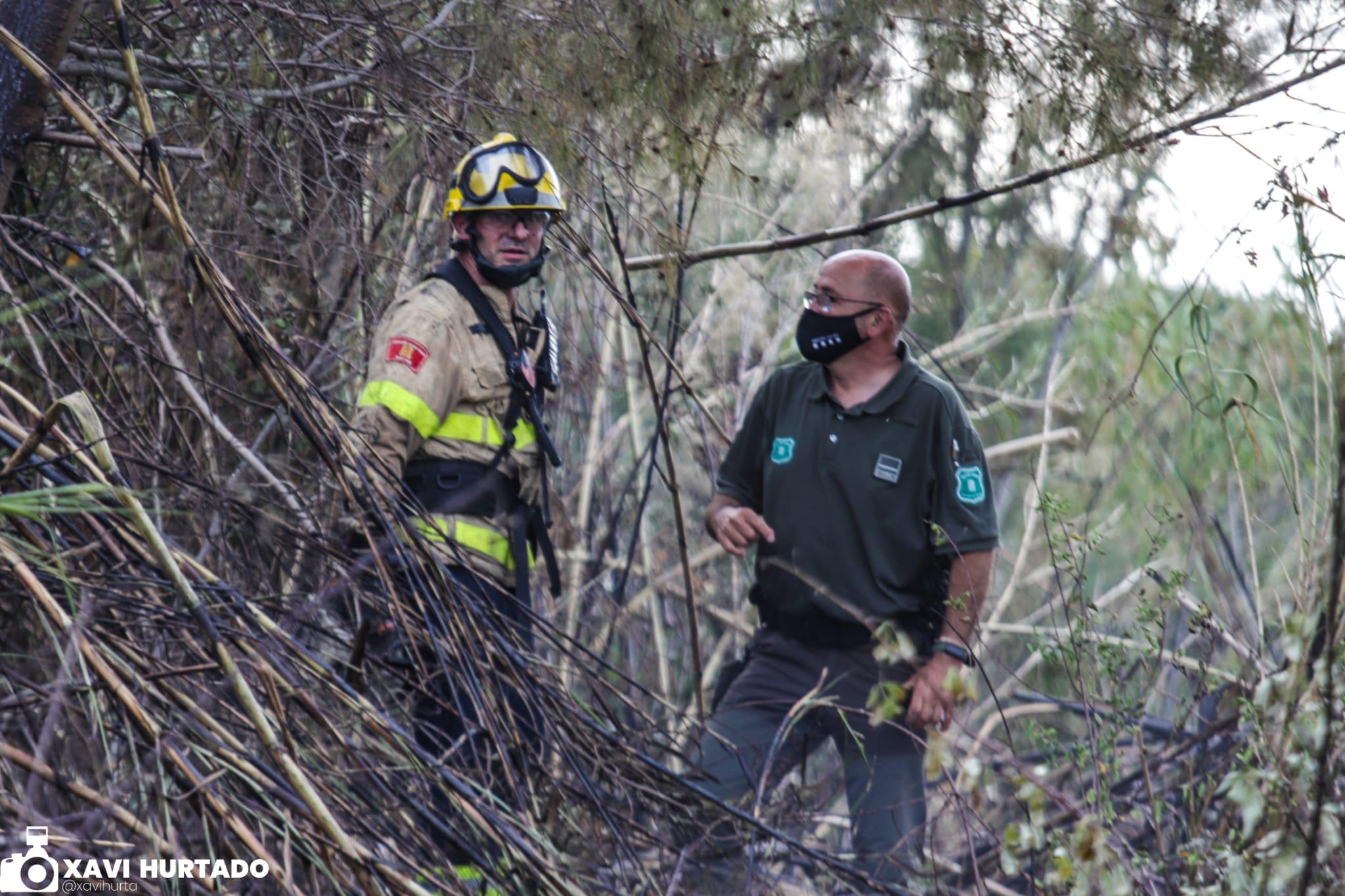 Incendi de vegetació a Terrassa/Xavi Hurtado