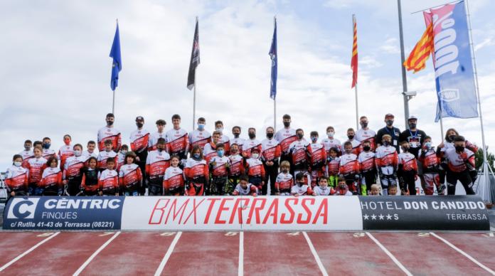 Els corredors del BMX Terrassa