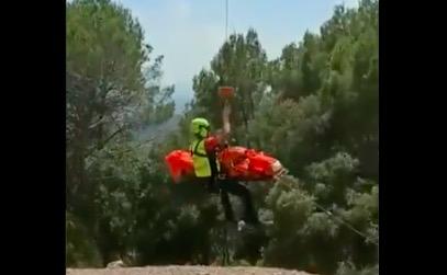 Rescat en helicòpter a Cavall Bernat | Bombers