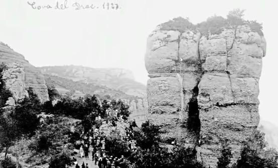 Ascens a la Cova del Drac, any 1923    Centre Excursionista de Terrassa