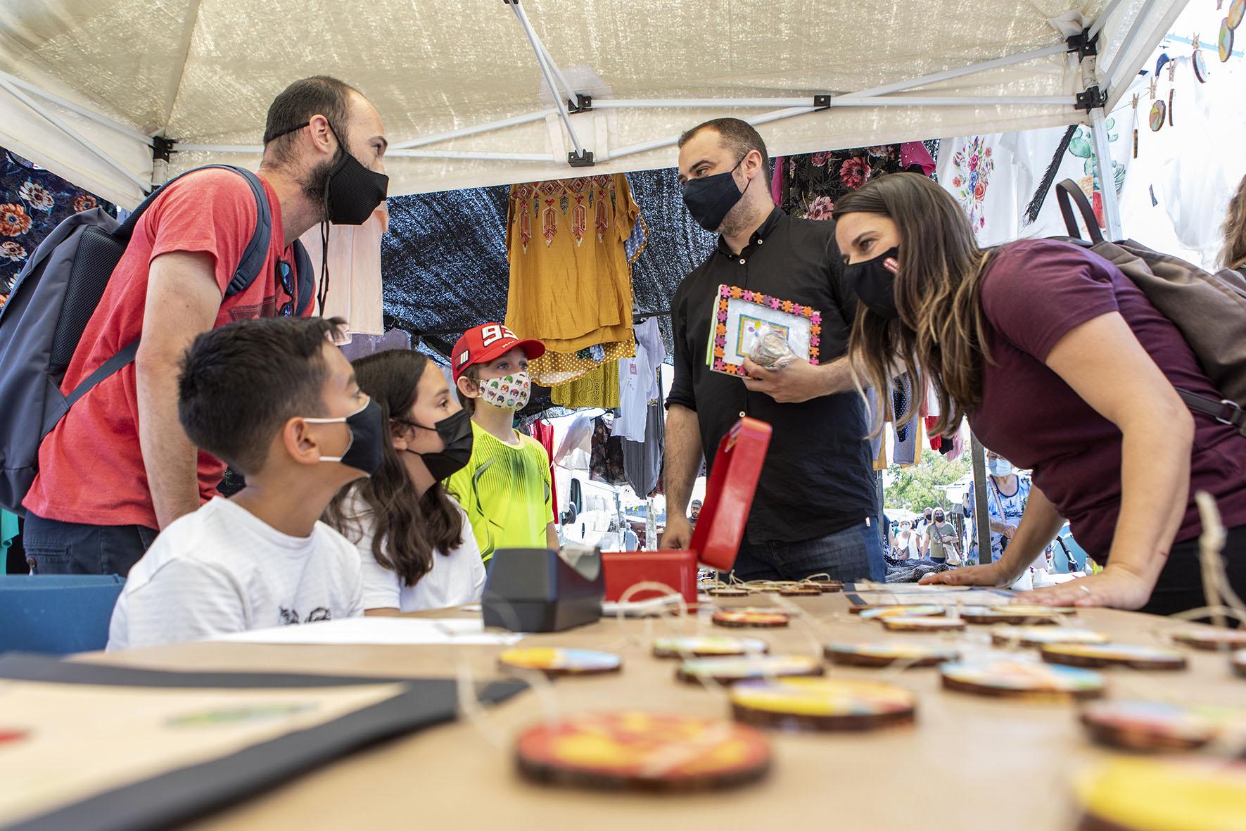 Visita a les cooperatives escolars al Mercadal de Terrassa   Rafel Casanovas BCF