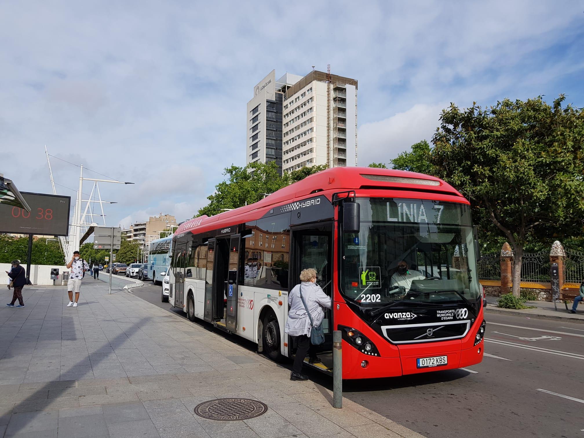 Autobús de TMESA a l'avinguda Jacquard | Lluïsa Tarrida