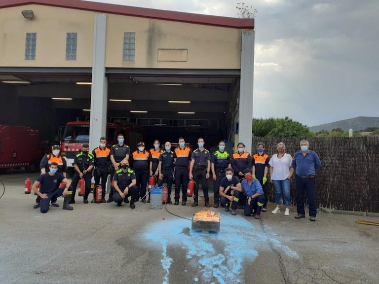 Agents dels cossos d'emergència municipals han rebut formació per prevenir incendis | Aj, Viladecavalls