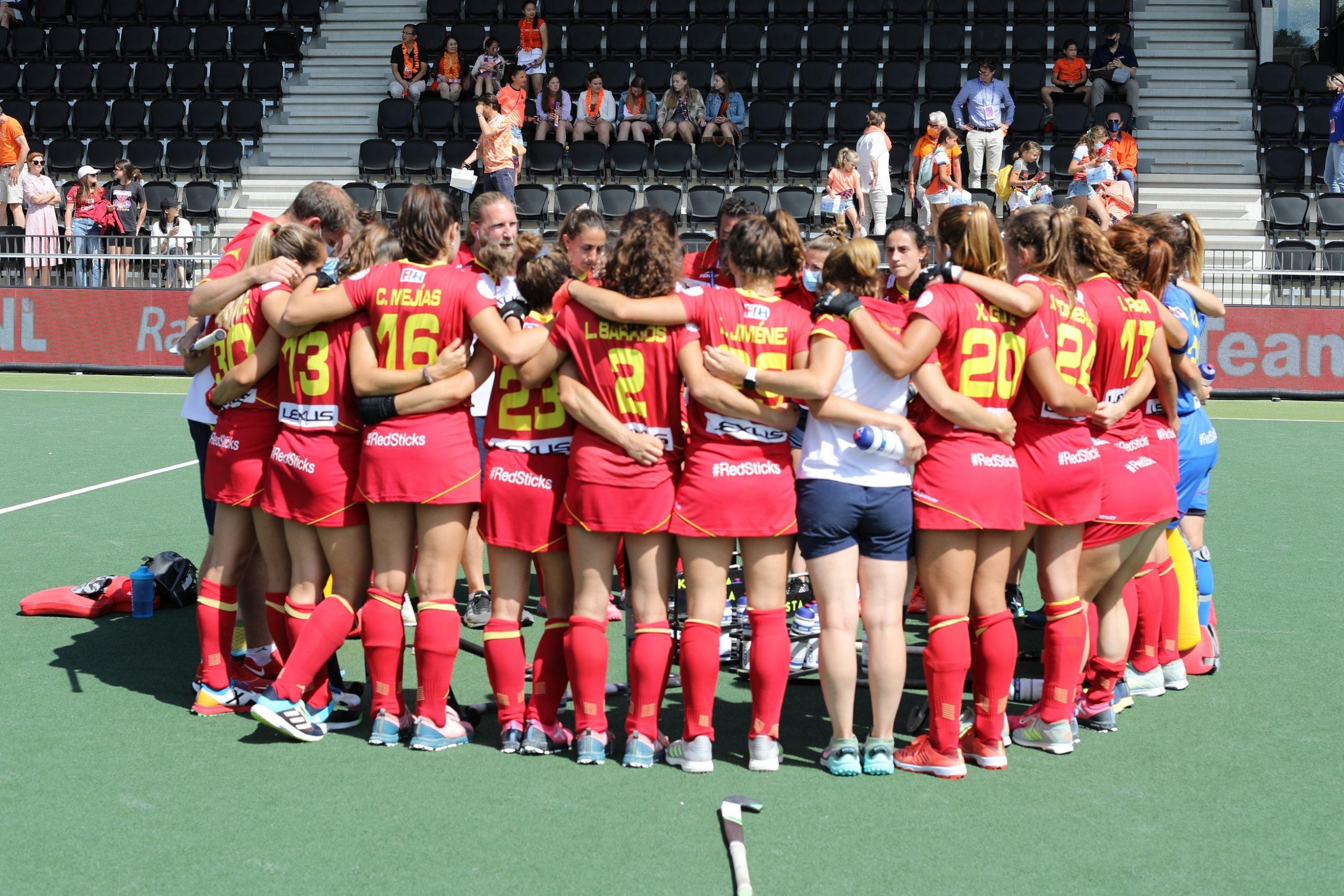 La selecció espanyola ha quedat quarta a l'Europeu | RFEF