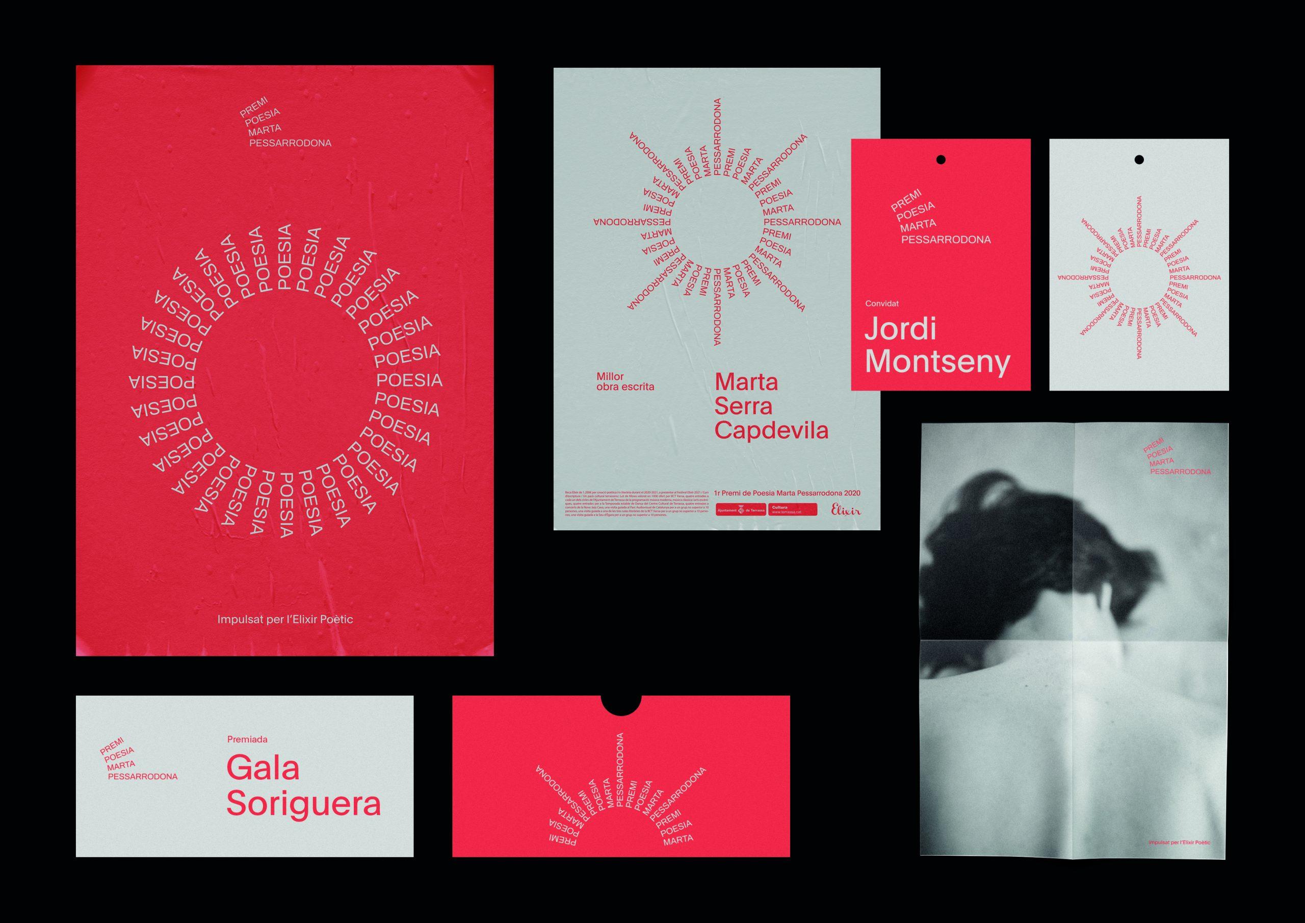Branding del Premi Marta Pesarrodona de l'estudi Bakoom