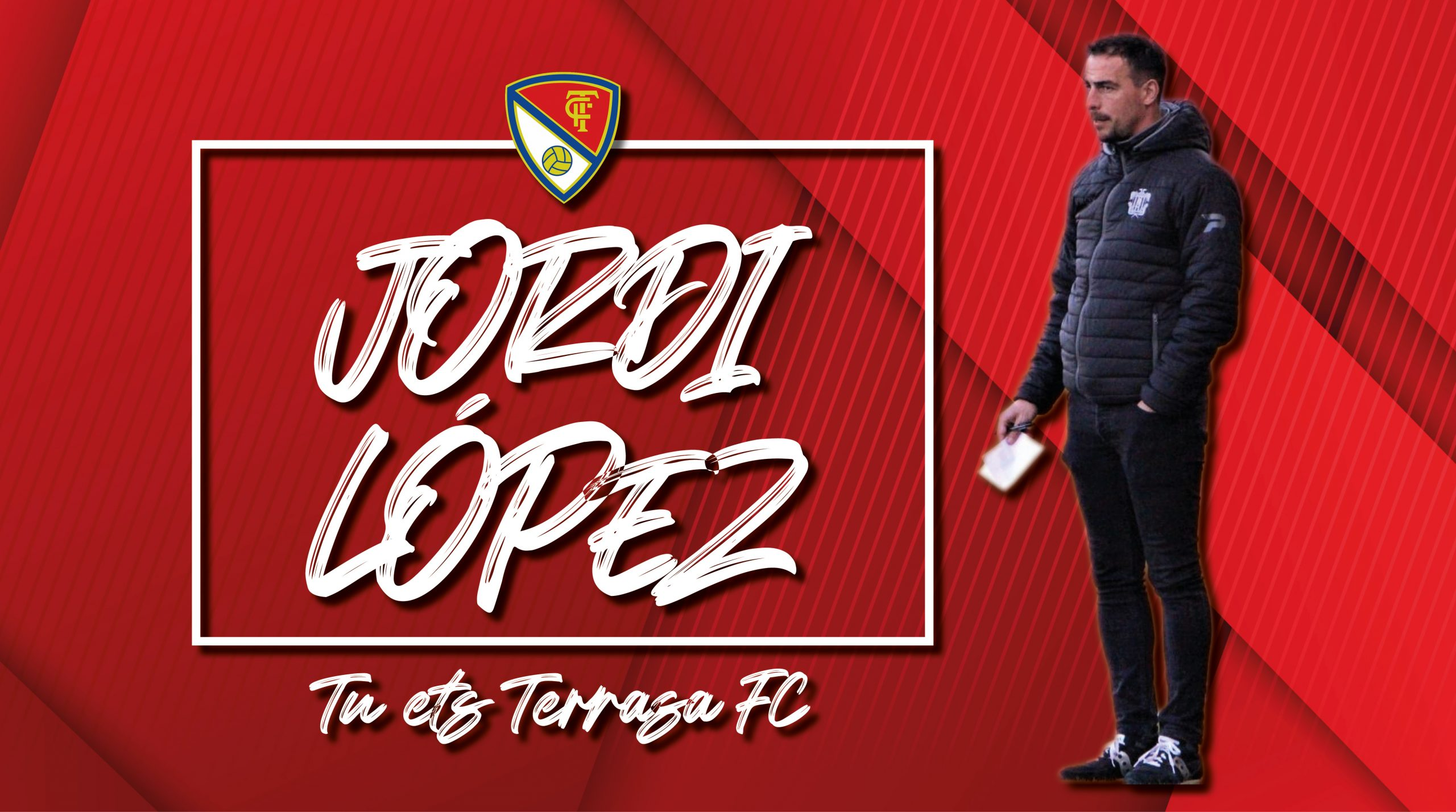 Jordi López, nou entrrenador del Terrassa FC