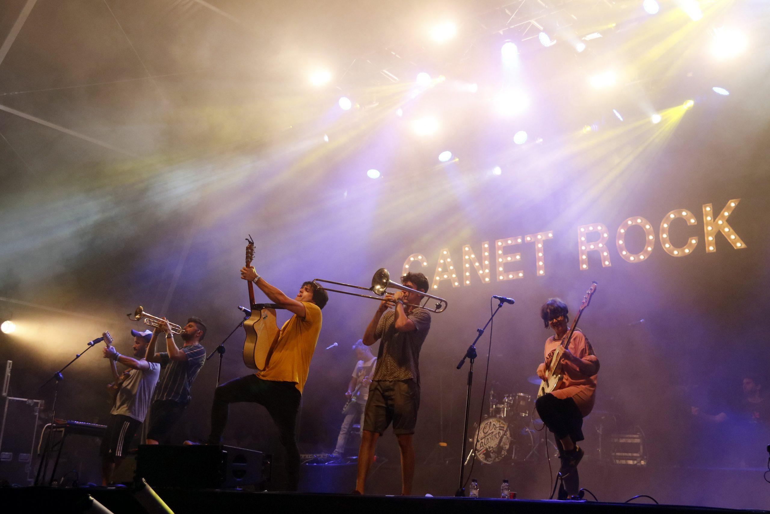 Els Catarres al Canet Rock/ACN