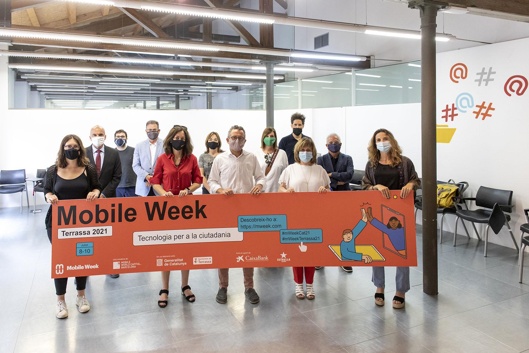 Acte de presentació de la Mobile Week a Terrassa | Rafel Casanova BCF