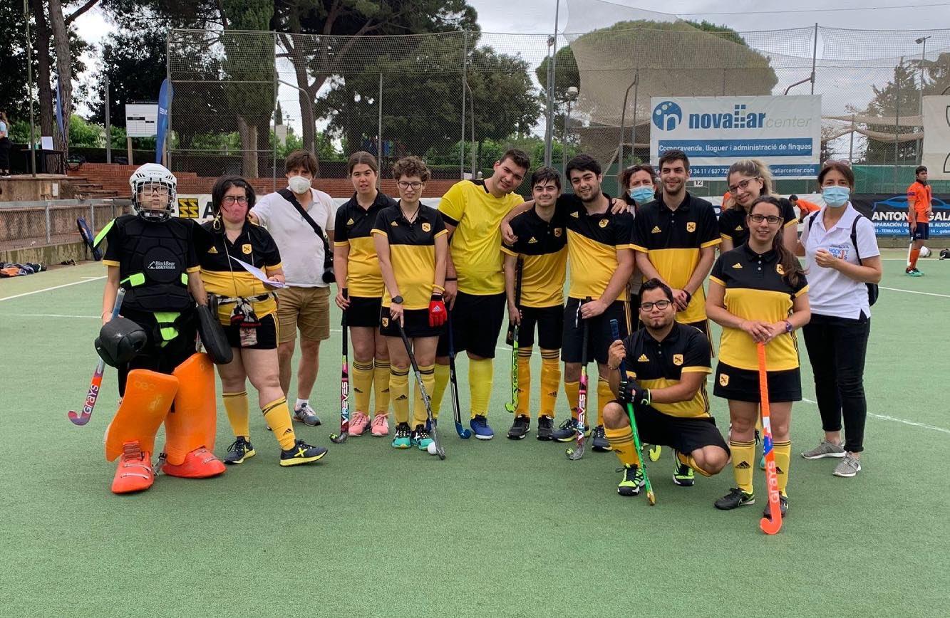 Els jugadors de l'Atlètic participants a la Lliga BBVA Hockey+ | FCH