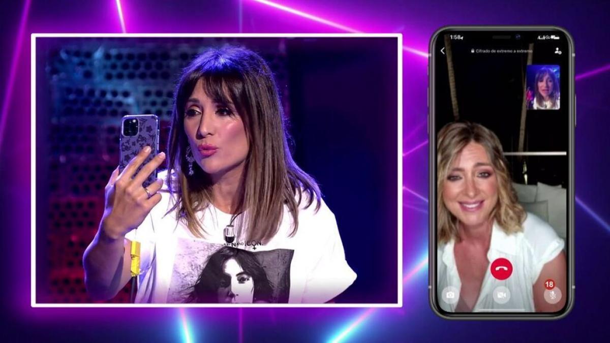 Nagore i Sandra Barneda, en directe a Telecinco