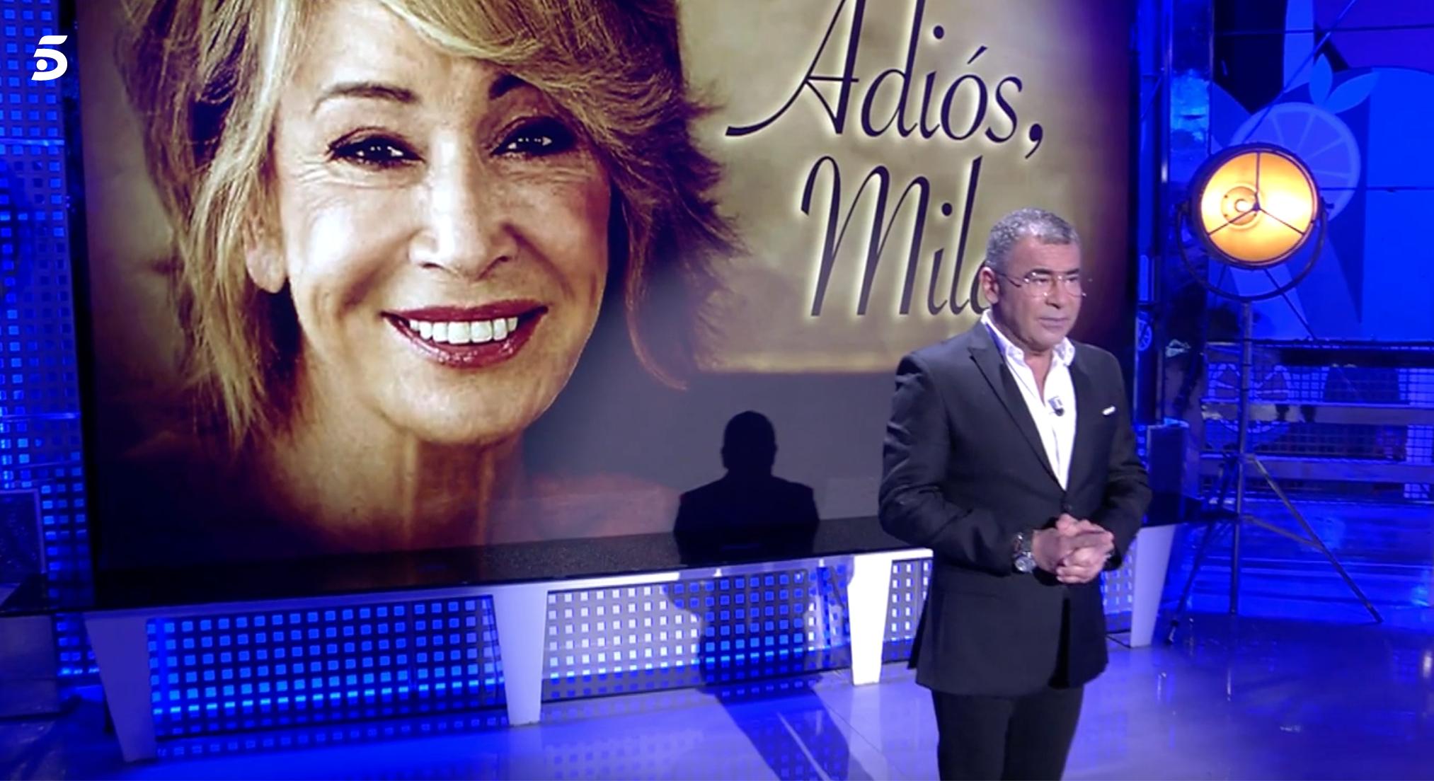 Jorge Javier Vázquez a Sálvame | Telecinco