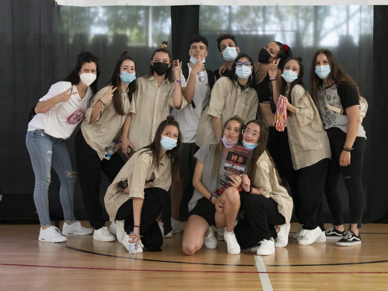 Primera posicio per al grup Homies | DANCE STREET& FES GYM