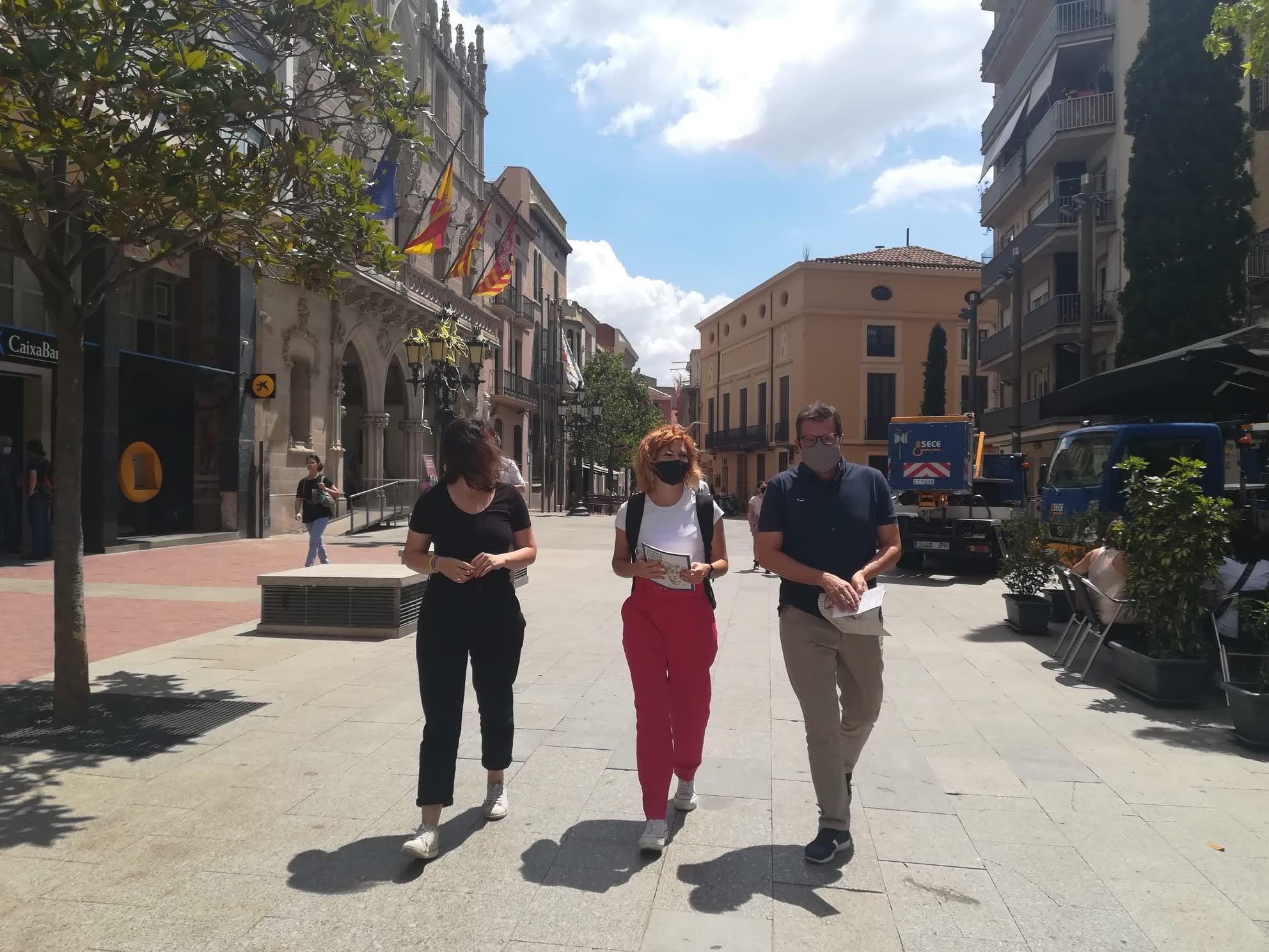 Alamany s'ha reunit amb els regidors d'ERC Terrassa per conèixer els projectes com l'illa de vianants o el ple de dones | ERC Terrassa