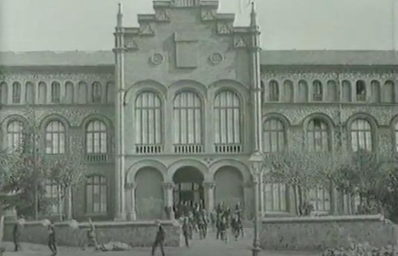 Imatge del campus UPC a inicis del segle XX