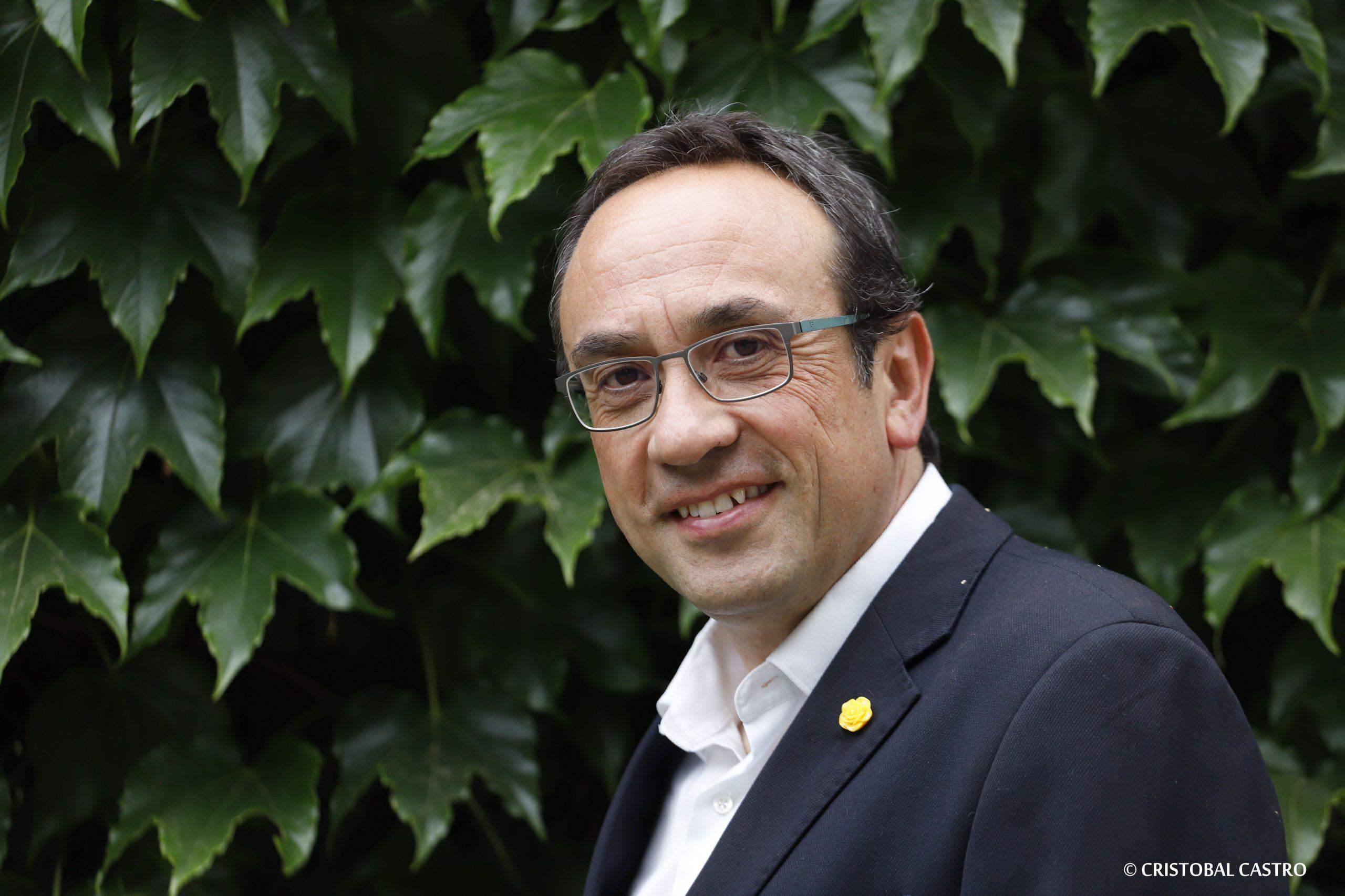 Josep Rull, a la Seu d'Ègara   Cristóbal Castro