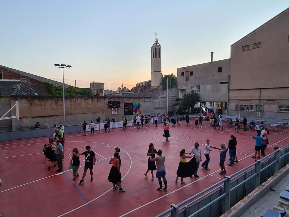 La pista d'EL Social ha acollit l'assaig del ball de plaça   Aj. Terrassa