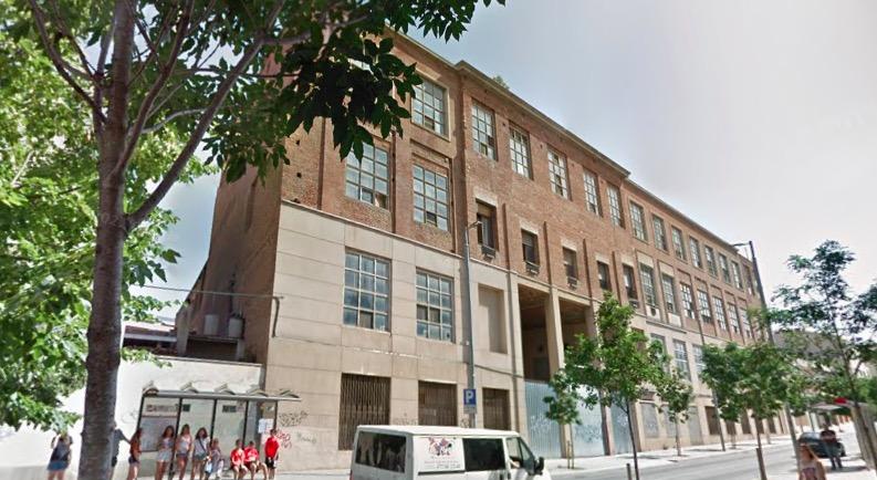 l'antiga fàbrica tèxtil Industrial Freixa, a la carretera de Montcada, 257