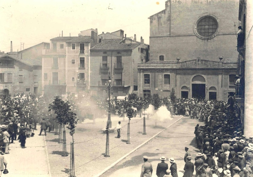 La traca de Festa Major 1912 / Fons Ragon-AMAT
