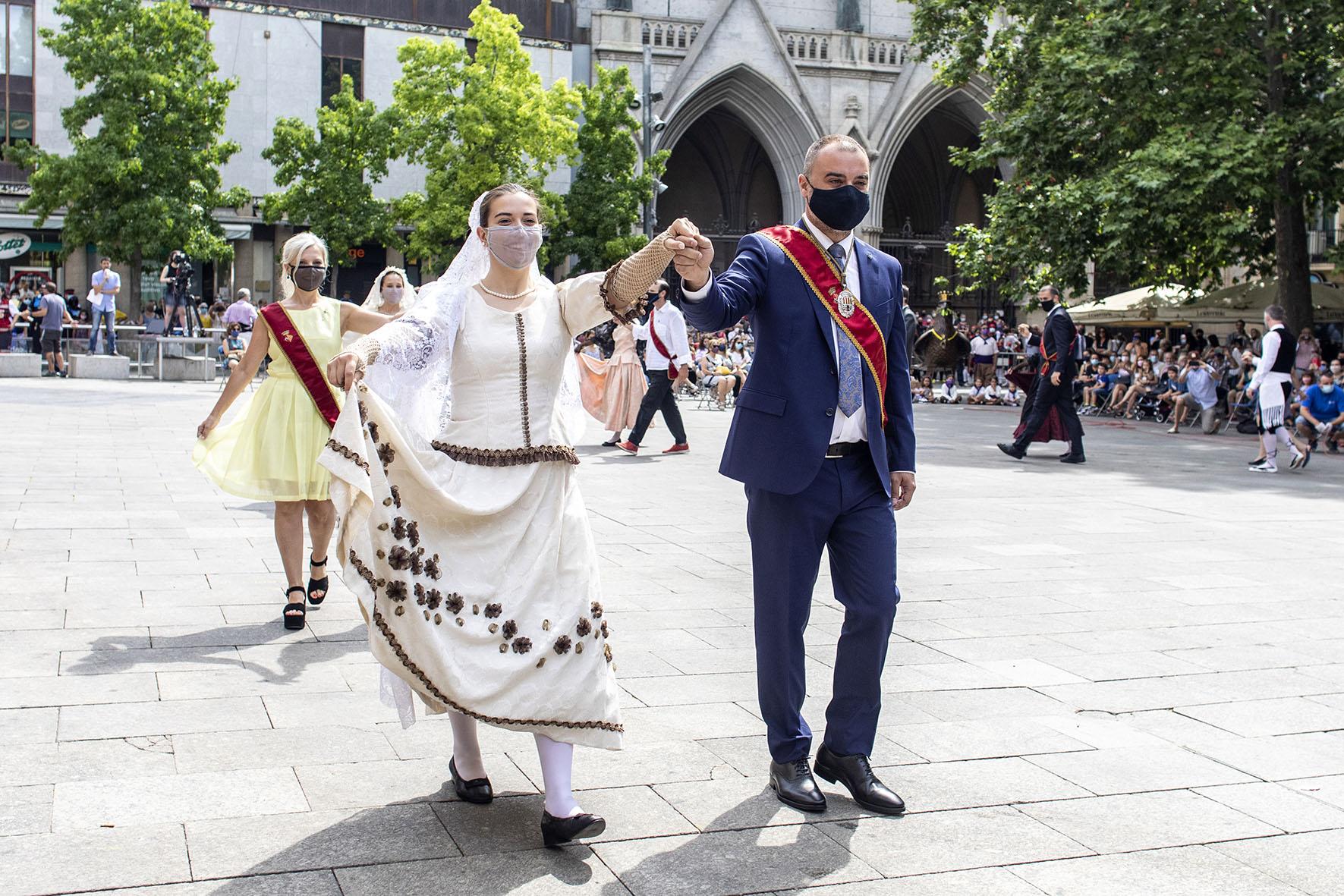Sortida d'Ofici i Ball de Plaça de la Festa Major de Terrassa