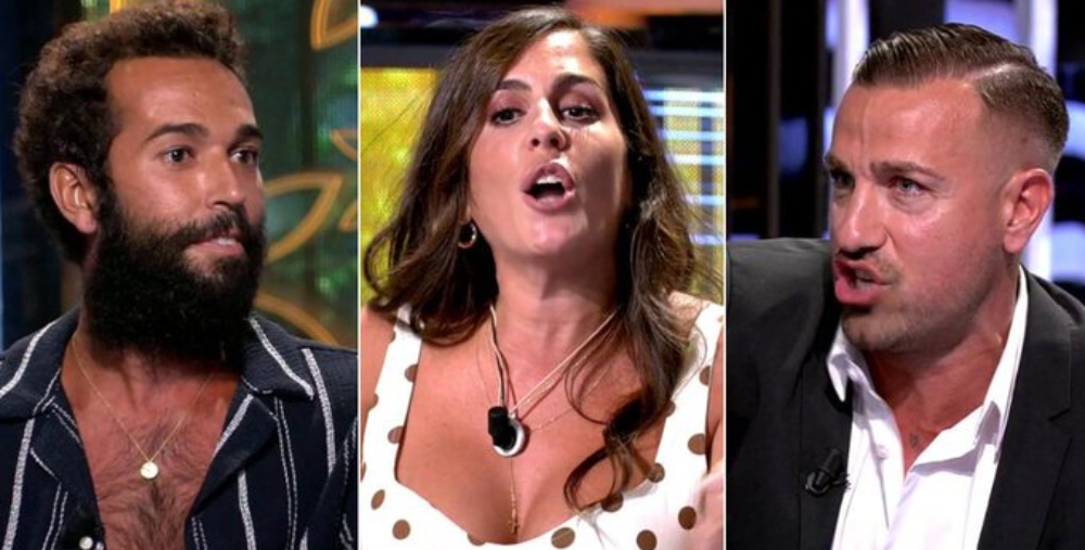 Fort enfrontament en el plató de 'Supervivientes' - Telecinco