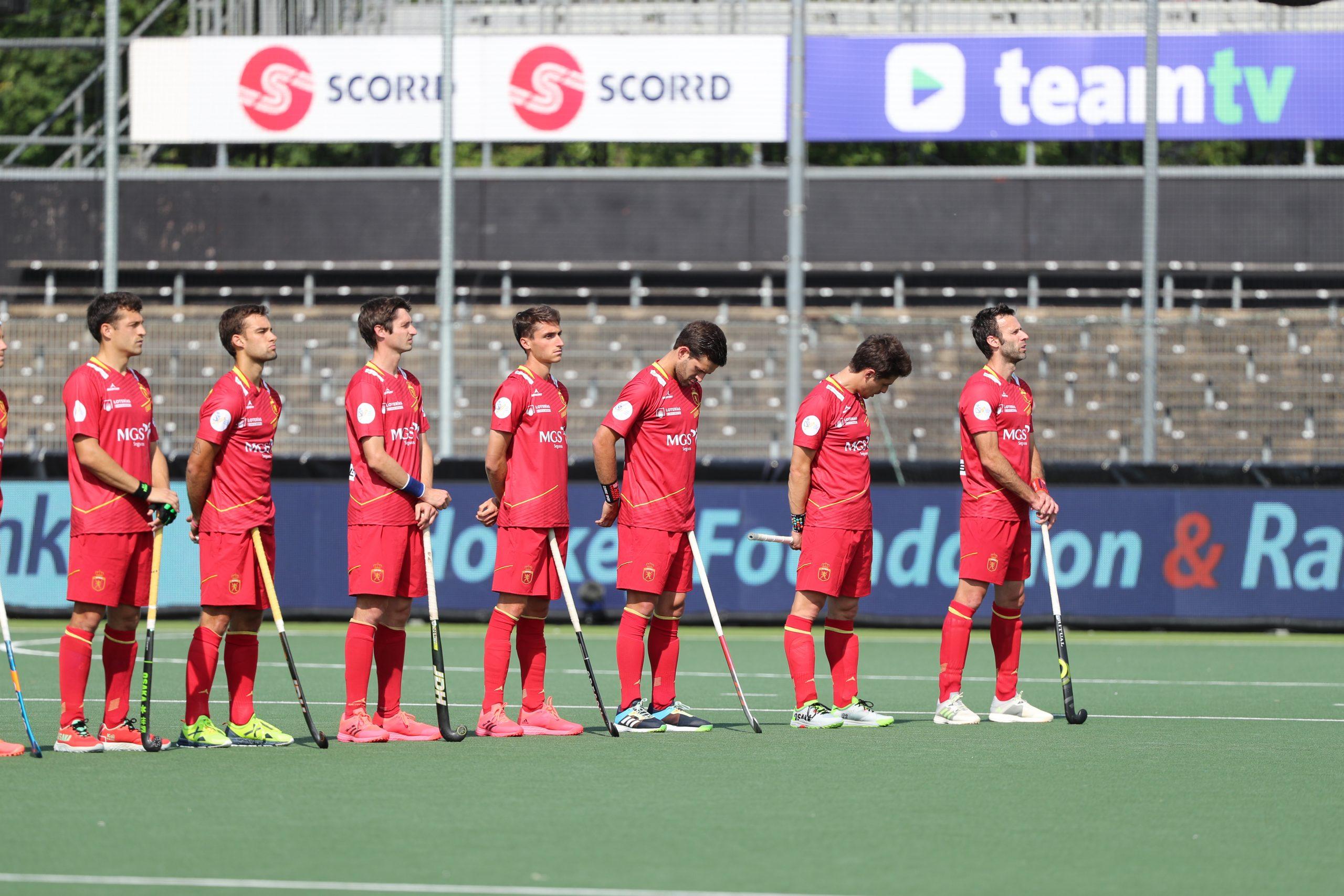 Jugadors de la selecció espanyola d'hoquei   RFEH