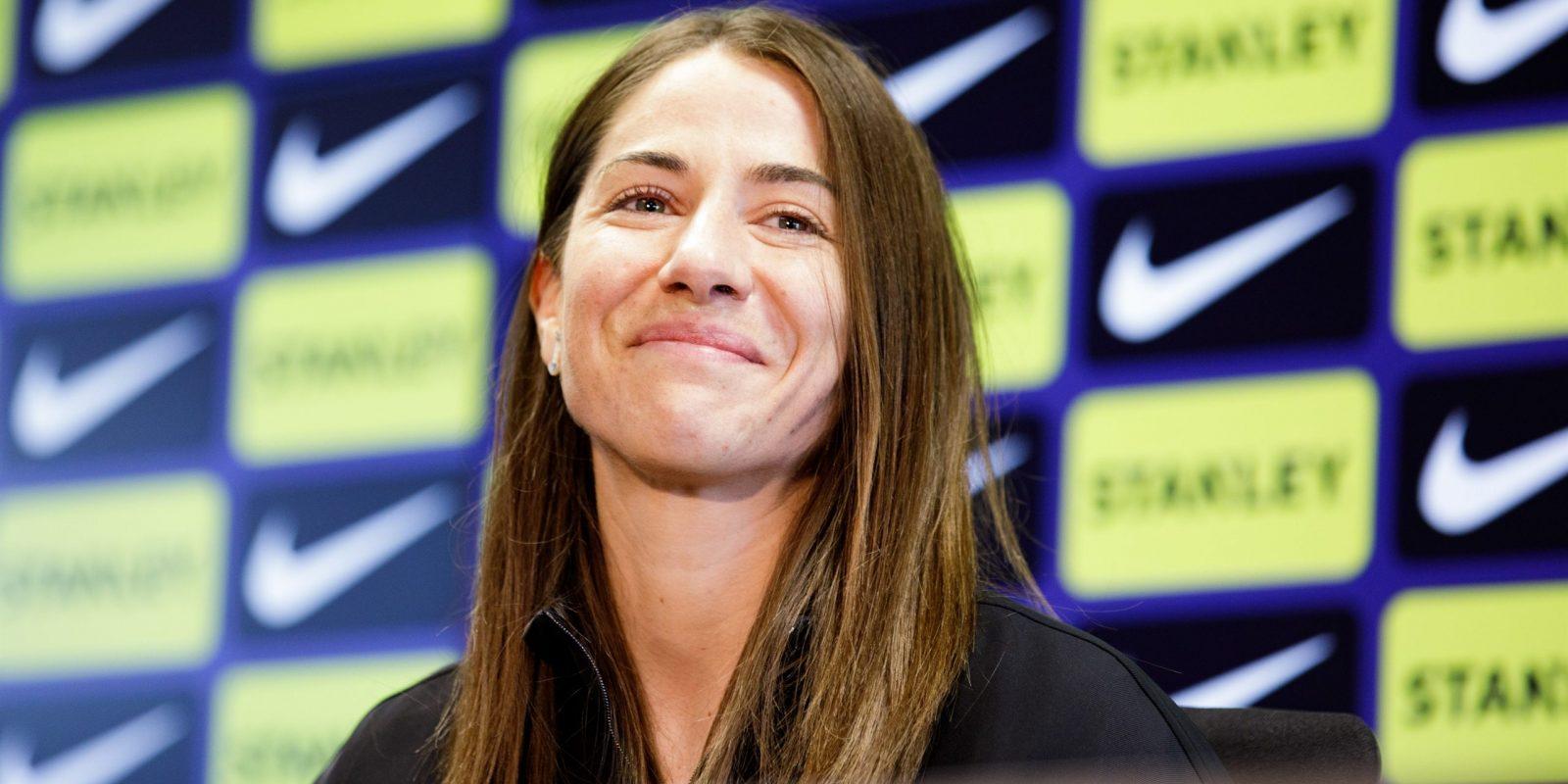 Vicky Losada, exjugadora del Barça | Europa Press