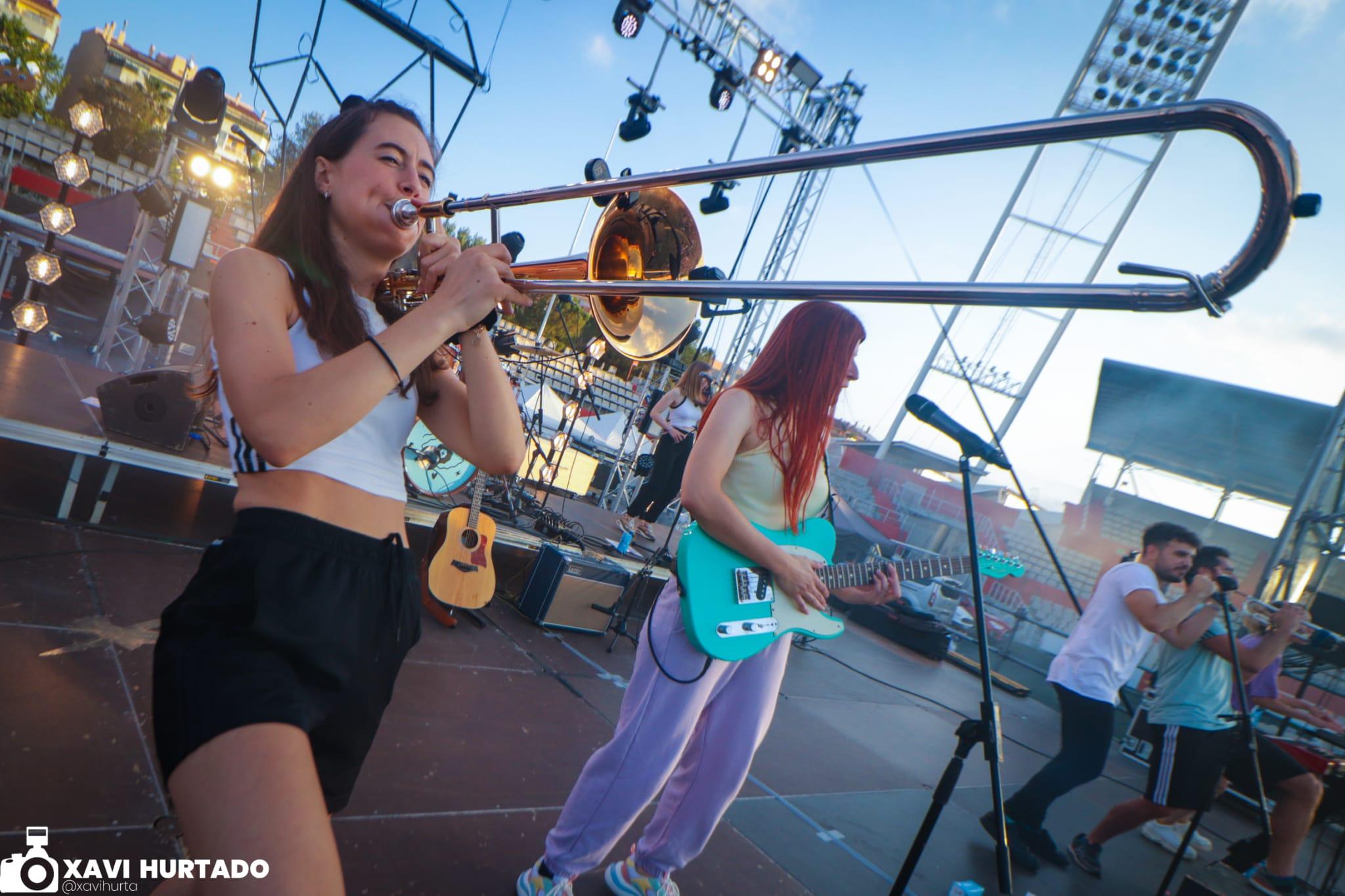 Concert de Sense Sal a l'Estadi Olímpic de Terrassa per la Festa Major 2021 | Xavi Hurtado