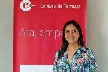 Silvia Herrera. Responsable de digitalització de Cambra de Terrassa