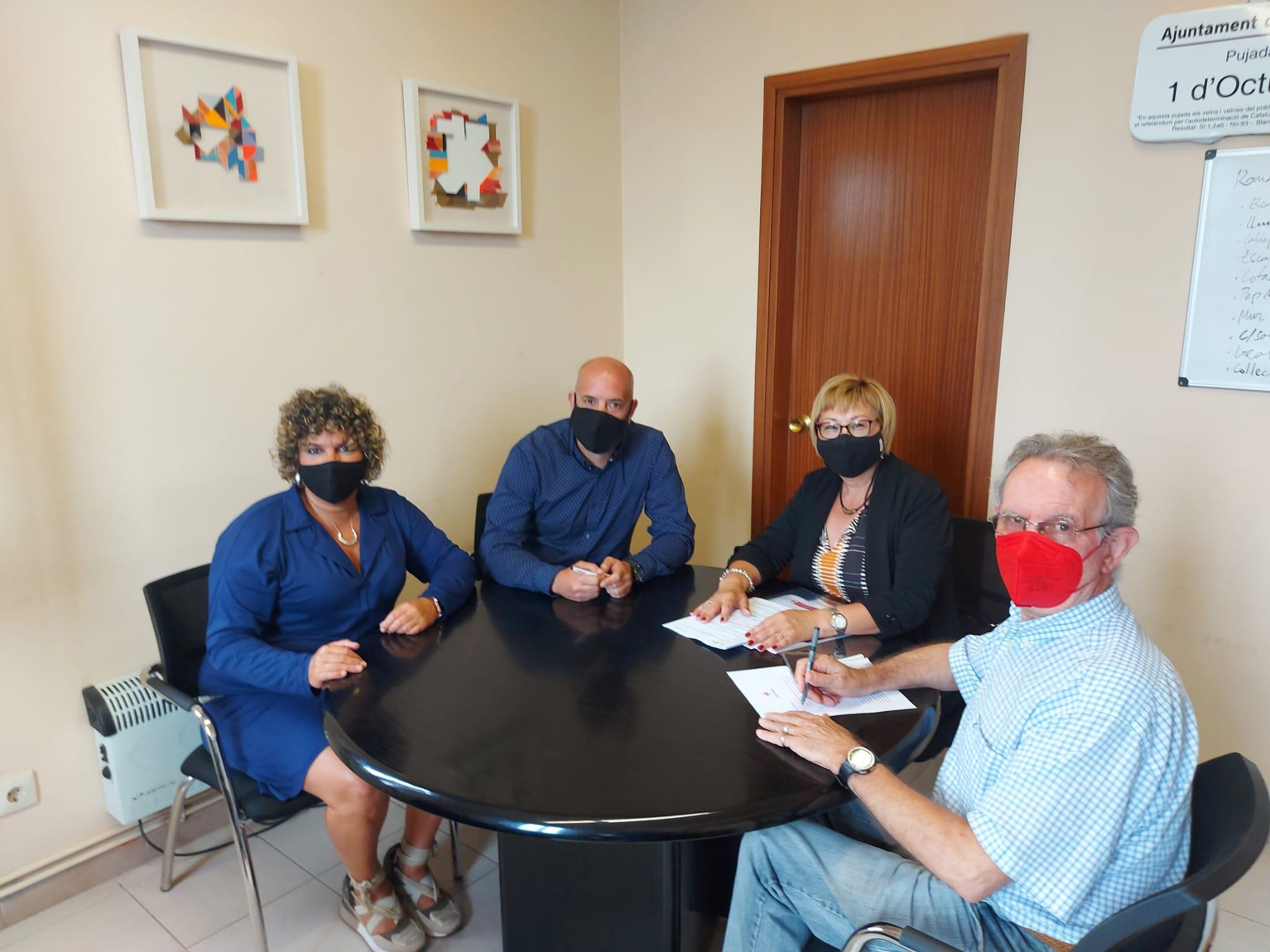 Conveni de col·laboració entre Creu Roja i l'Ajuntament d'Ullastrell