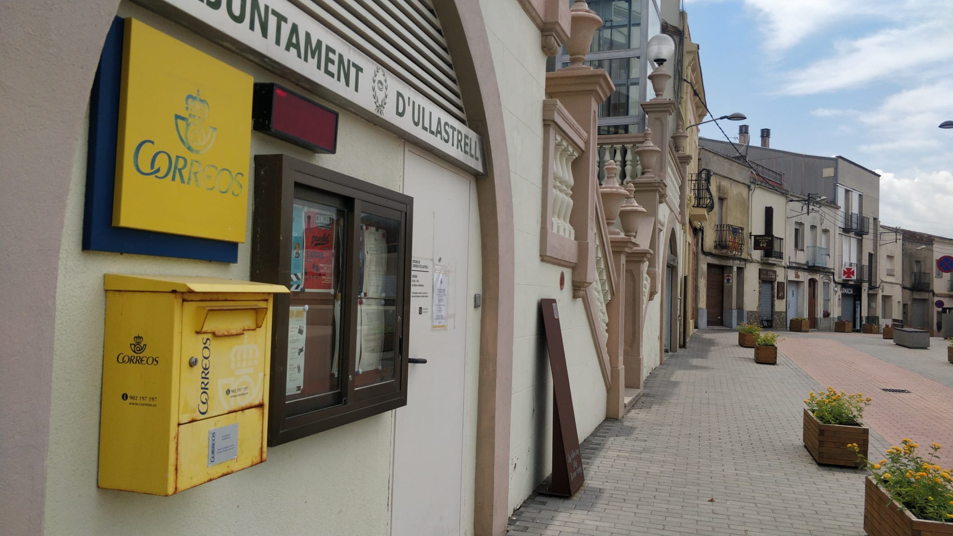 Oficina de correus a Ullastrell | Aj. Ullastrell