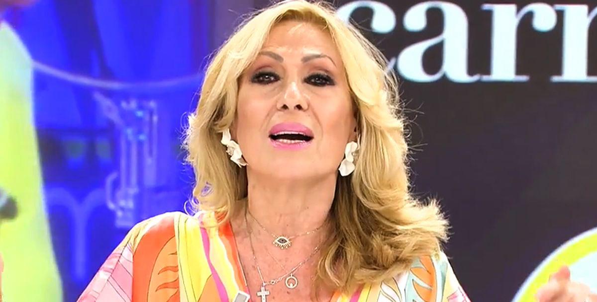 Rosa Benito reacciona a les paraules de la neboda - Telecinco