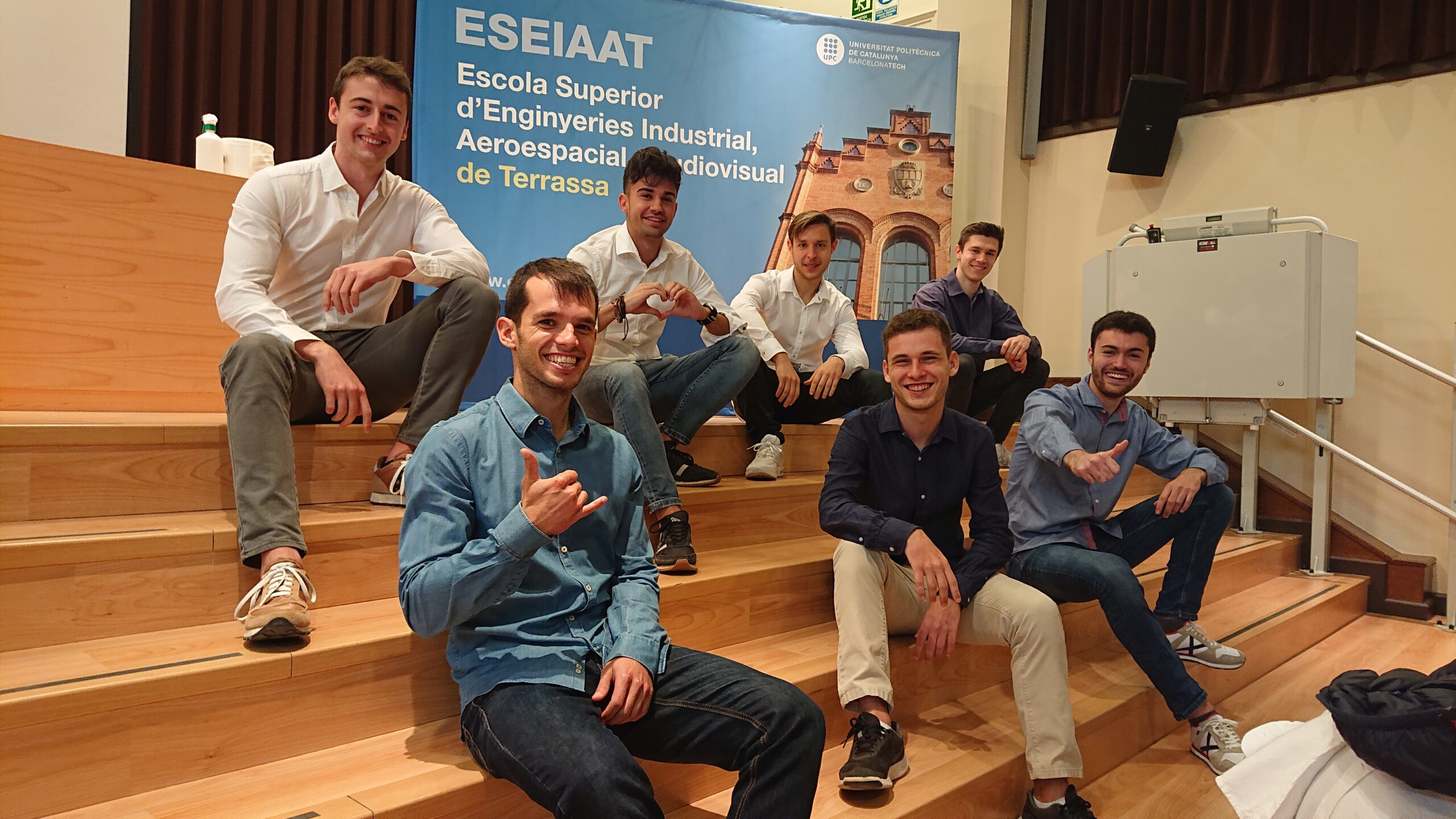 Els estudiants de la UPC-ESEIAAT que han fundat KreiosSpace